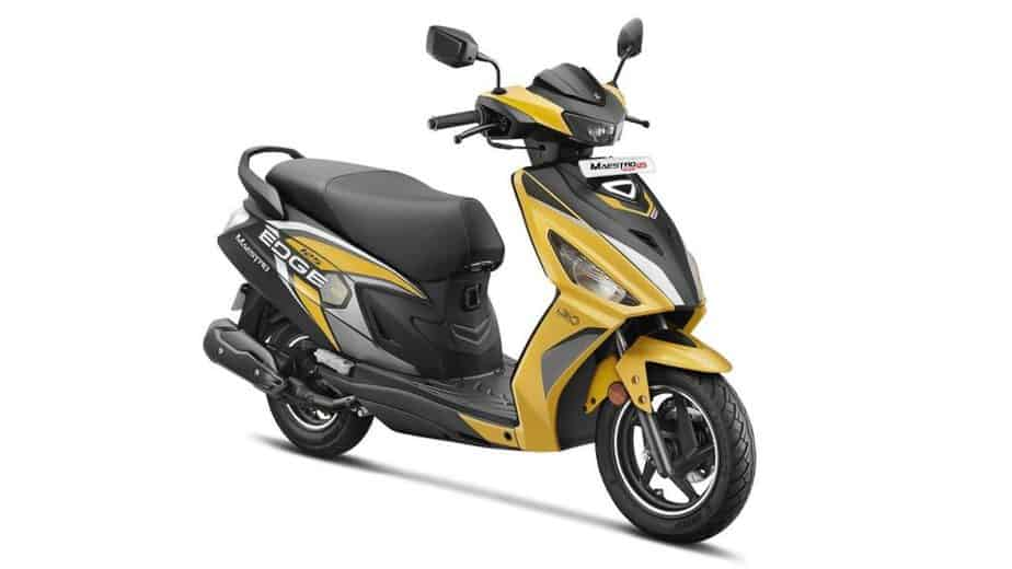 Updated Hero Maestro Edge 125 launched in India