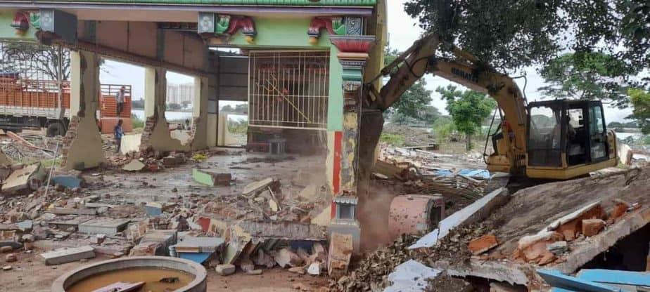 temple demolished - updatenews360
