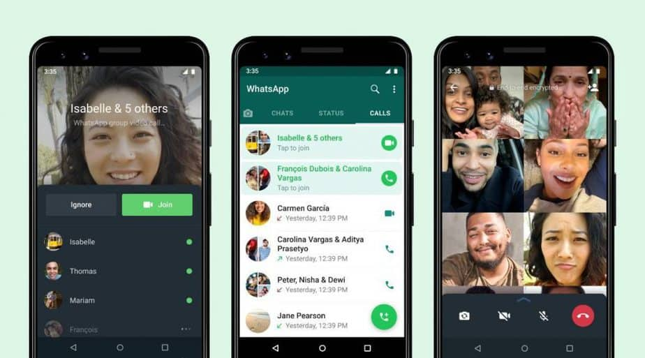 WhatsApp introduces joinable group calls