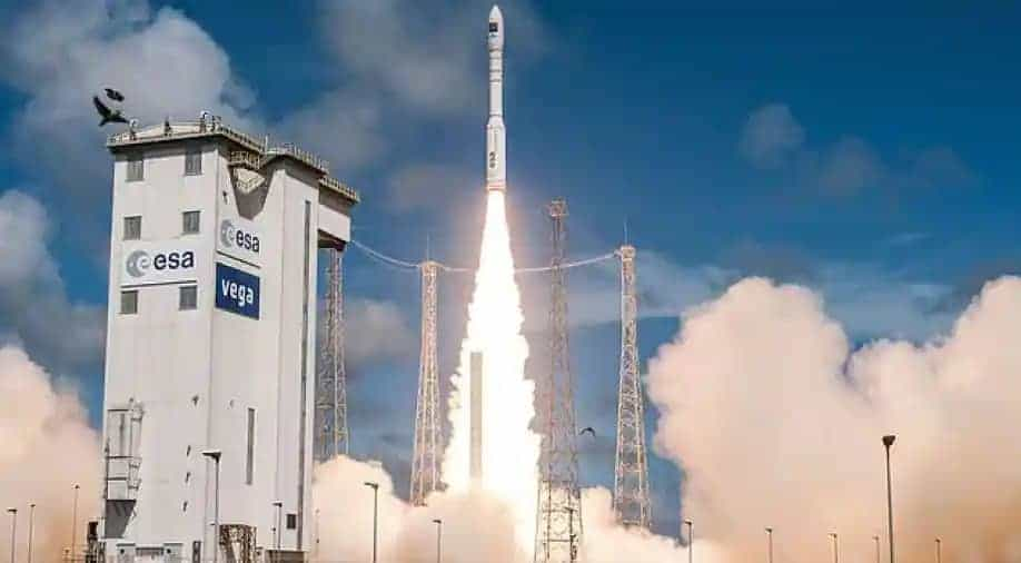 World's first commercial re-programmable satellite Eutelsat Quantum blasts into space