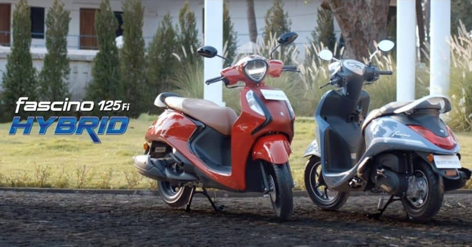 Yamaha Fascino 125 Fi Hybrid scooter launched