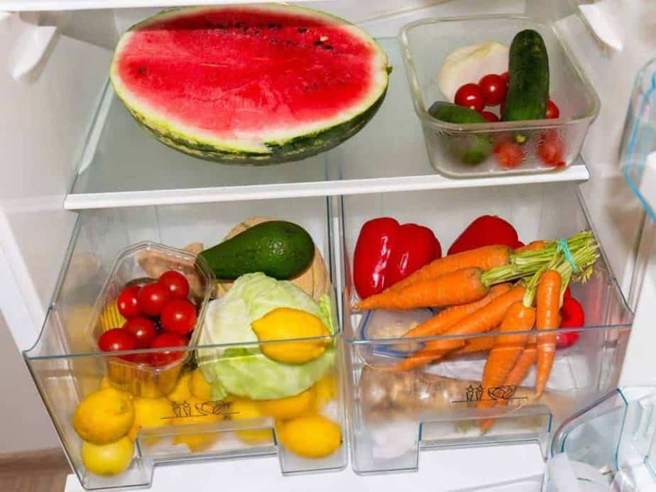 how to store mango and watermelon in fridge