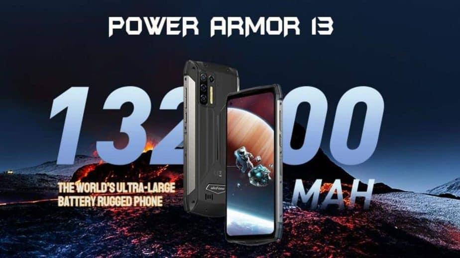 Ulefone's latest rugged smartphone packs a massive 13,200mAh battery
