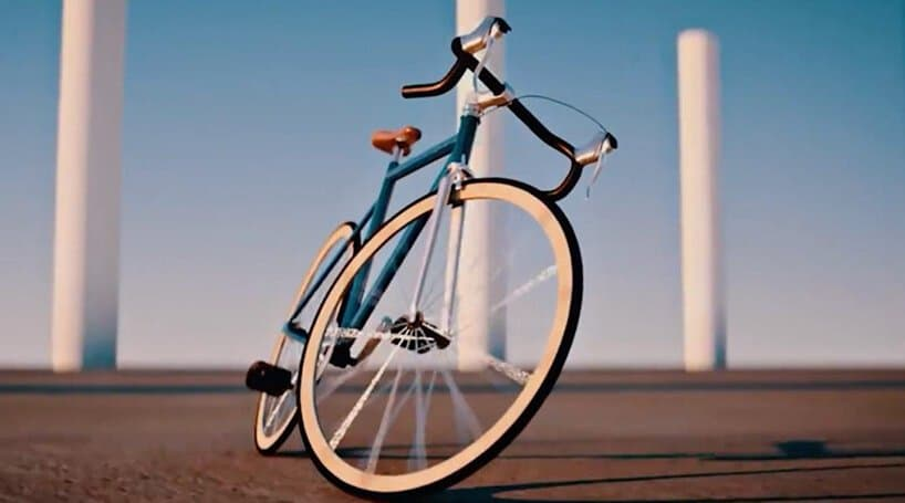 self-driving bicycle developed by huawei engineers can operate unmanned