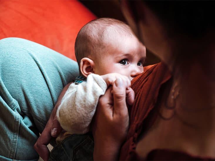 Breast milk contains important antibodies