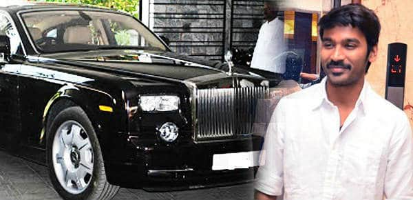 Dhanush-Rolls-Royce-Car - updatenews360