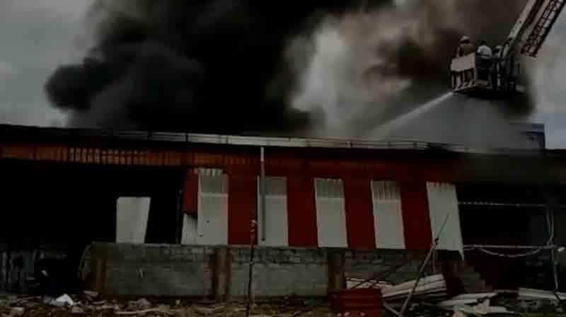 Massive Fire - Updatenews360