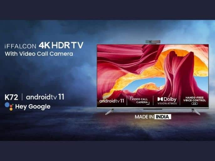 iFFALCON K72 55-inch 4K TV launched at Rs. 52,000